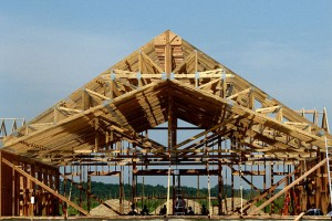 commercial structure framing