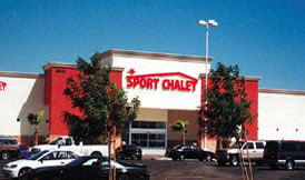fresh paint for sport chalet