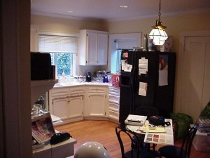 santa clarita kitchen remodel before