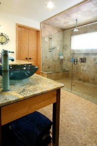 santa clarita bathroom remodel after
